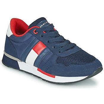 Schuhe Kinder Sneaker Low Tommy Hilfiger JEROME Blau