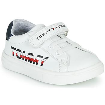 Schuhe Kinder Sneaker Low Tommy Hilfiger MARILO Weiss