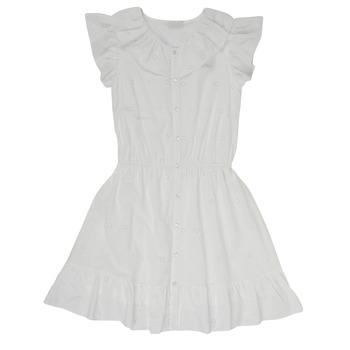 Kleidung Mädchen Kurze Kleider Name it NKFDORITA Weiss