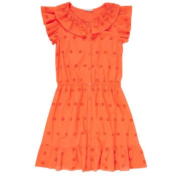 Kleidung Mädchen Kurze Kleider Name it NKFDORITA Korallenrot