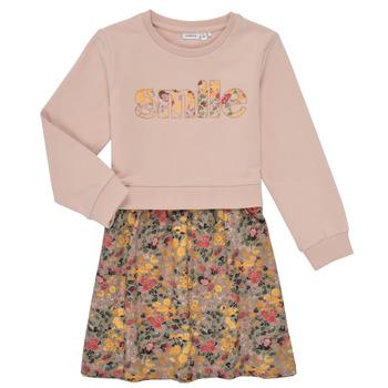 Kleidung Mädchen Kurze Kleider Name it NMFBADA Grau