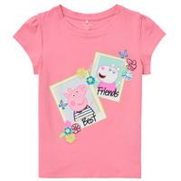Kleidung Mädchen T-Shirts Name it PEPPAPIG Rose