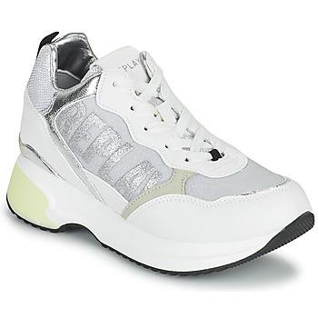 Schuhe Damen Sneaker Low Replay COMET Weiss