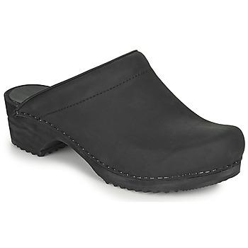 Schuhe Damen Pantoletten / Clogs Sanita CHRISSY Schwarz