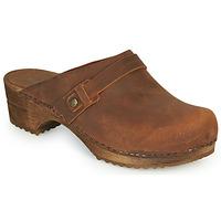 Schuhe Damen Pantoletten / Clogs Sanita URSANA Braun
