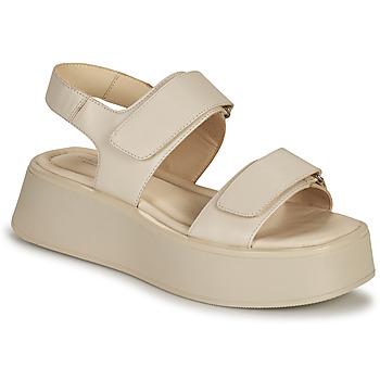 Schuhe Damen Sandalen / Sandaletten Vagabond Shoemakers COURTNEY Beige