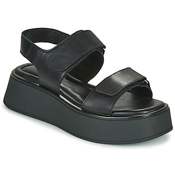 Schuhe Damen Sandalen / Sandaletten Vagabond Shoemakers COURTNEY Schwarz