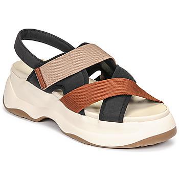 Schuhe Damen Sandalen / Sandaletten Vagabond Shoemakers ESSY Weiss / Schwarz