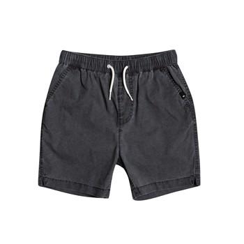 Kleidung Jungen Shorts / Bermudas Quiksilver TAXER WS Schwarz
