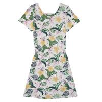 Kleidung Mädchen Kurze Kleider Roxy THE CLOUDS Multicolor