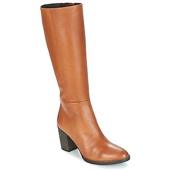 Schuhe Damen Klassische Stiefel Betty London ISME Camel