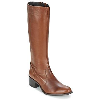 Schuhe Damen Klassische Stiefel Betty London IROIN Camel