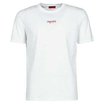 Kleidung Herren T-Shirts HUGO DURNED Weiss