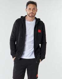Kleidung Herren Sweatshirts HUGO DAPLE Schwarz
