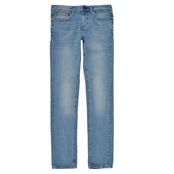 Kleidung Jungen Röhrenjeans Teddy Smith FLASH Blau