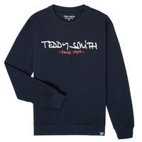 Kleidung Jungen Sweatshirts Teddy Smith S-MICKE Marine