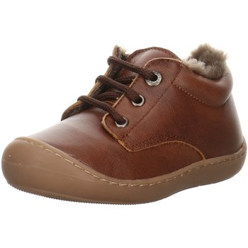 Schuhe Jungen Babyschuhe Clic Schnürhalbschuh 9293 braun