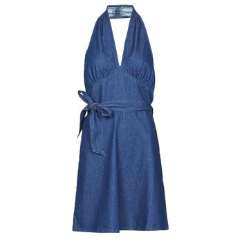 Kleidung Damen Kurze Kleider Molly Bracken EL902P21 Blau