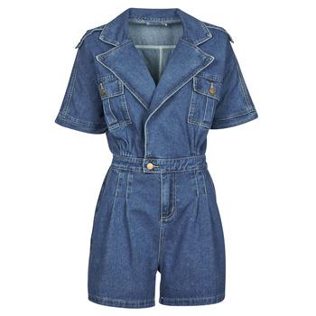 Kleidung Damen Overalls / Latzhosen Molly Bracken EL1261P21 Blau