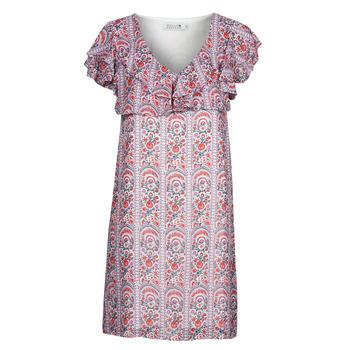Kleidung Damen Kurze Kleider Molly Bracken LA171AE21 Malvenfarben