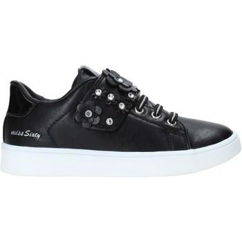 Schuhe Kinder Sneaker Low Miss Sixty W19-SMS641 Schwarz