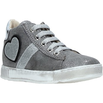 Schuhe Kinder Sneaker High Naturino 2014191 01 Silber