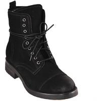 Schuhe Damen Low Boots Mally 5038 Schwarz