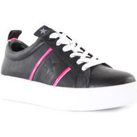 Schuhe Damen Sneaker Low Wrangler WL01600A Schwarz