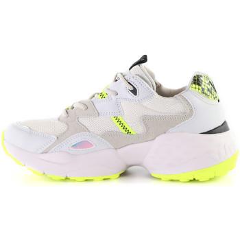 Wrangler WL01650A Weiß - Schuhe Sneaker Low Damen 4495