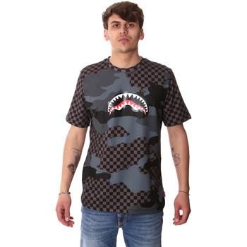 Kleidung Herren T-Shirts Sprayground SP01820BLA Schwarz