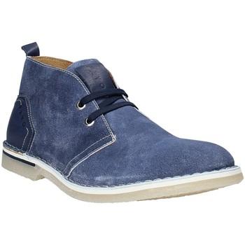 Schuhe Herren Boots Rogers BK 61 Blau
