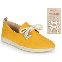 Schuhe Kinder Sneaker Low Armistice STONE ONE Gelb