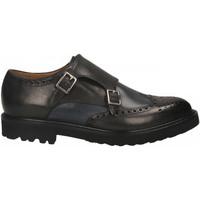 Schuhe Herren Slipper Brecos VITELLO grigio-azzurro