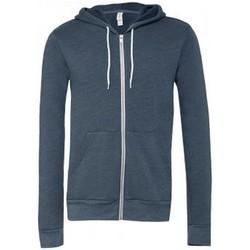 Kleidung Sweatshirts Bella + Canvas CV3739 Navy meliert