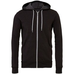 Kleidung Sweatshirts Bella + Canvas CV3739 Dunkelgrau meliert