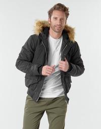 Kleidung Herren Jacken Schott WASHINGTON2 Schwarz