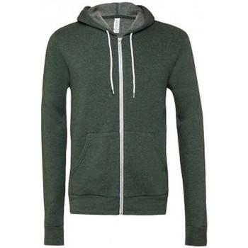 Kleidung Sweatshirts Bella + Canvas CV3739 Dunkelgrün meliert