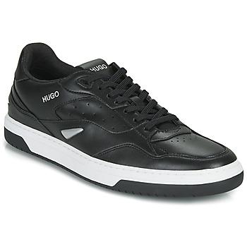 Schuhe Herren Sneaker Low HUGO SWITON TENN FL Schwarz