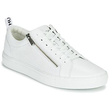 Schuhe Herren Sneaker Low HUGO FUTURISM TENN ITEM2 Weiss