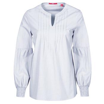Kleidung Damen Tops / Blusen S.Oliver 14-1Q1-11-4016-48W6 Malvenfarben