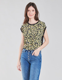 Kleidung Damen Tops / Blusen S.Oliver 14-1Q1-32-7164-99B0 Schwarz / Multicolor