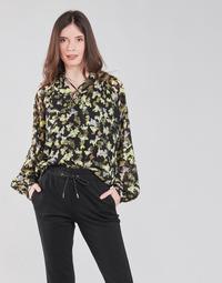 Kleidung Damen Tops / Blusen S.Oliver 14-1Q1-11-4082-99A1 Schwarz / Multicolor