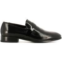 Schuhe Herren Slipper Rogers 10MB Schwarz