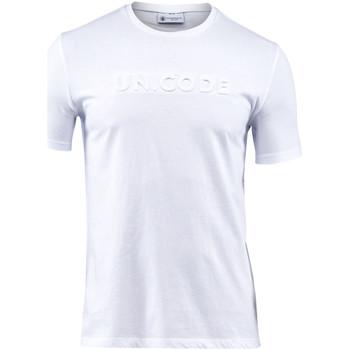 Kleidung Herren T-Shirts Lumberjack CM60343 001 508 Weiß