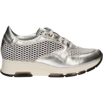 Schuhe Damen Sneaker Low Keys 5181 Silber
