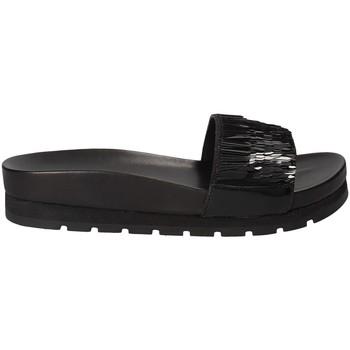 Schuhe Damen Pantoffel Apepazza MMI02 Schwarz
