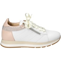 Schuhe Damen Sneaker Low Exton E18 Weiß