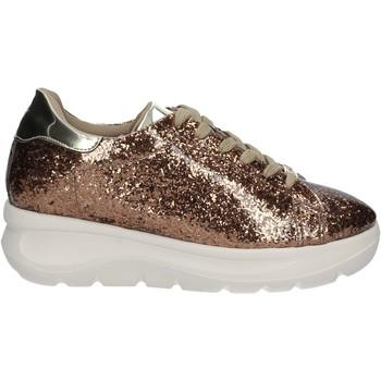 Schuhe Damen Sneaker Low Fornarina PE17VH9545G091 Gold