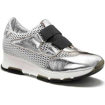 Schuhe Damen Sneaker Low Keys 5183 Silber