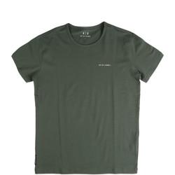 Kleidung Herren T-Shirts Key Up 2G69S 0001 Grün